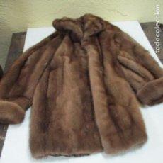 Vintage: CHAQUETON DE DE VISON . Lote 139940606