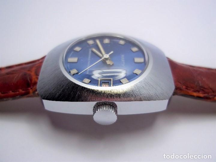 Vintage: Vintage. Reloj suizo de señora. Cuerda manual. Nuevo. Años 70. ENVIO GRATIS. - Foto 3 - 140066978