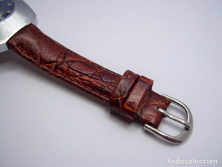 Vintage: Vintage. Reloj suizo de señora. Cuerda manual. Nuevo. Años 70. ENVIO GRATIS. - Foto 4 - 140066978