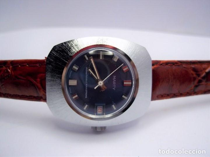 Vintage: Vintage. Reloj suizo de señora. Cuerda manual. Nuevo. Años 70. ENVIO GRATIS. - Foto 5 - 140066978