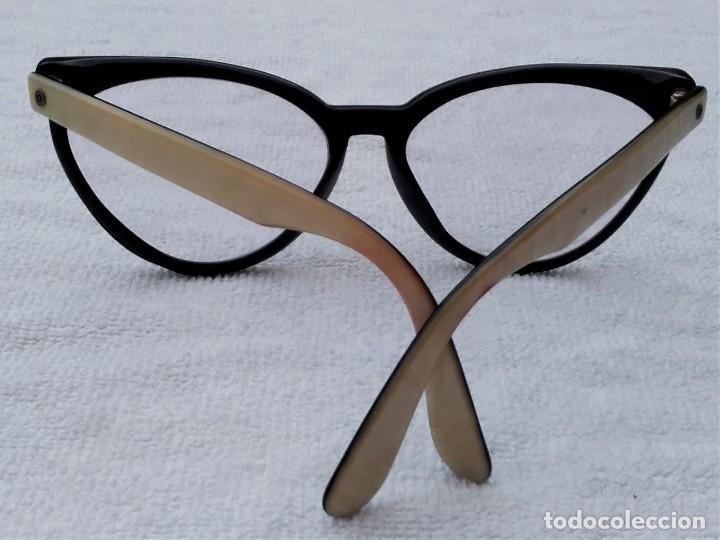 Vintage: Gafas( indo España) boutique papillon. Años 80.grieta base ojo izquierdo. Para arreglar. - Foto 2 - 140139266