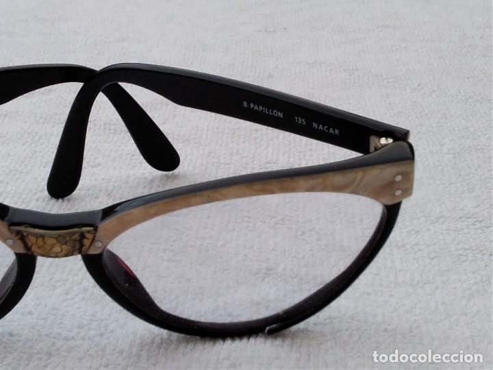 Vintage: Gafas( indo España) boutique papillon. Años 80.grieta base ojo izquierdo. Para arreglar. - Foto 4 - 140139266