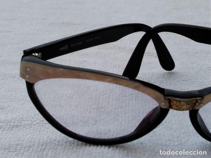 Vintage: Gafas( indo España) boutique papillon. Años 80.grieta base ojo izquierdo. Para arreglar. - Foto 5 - 140139266