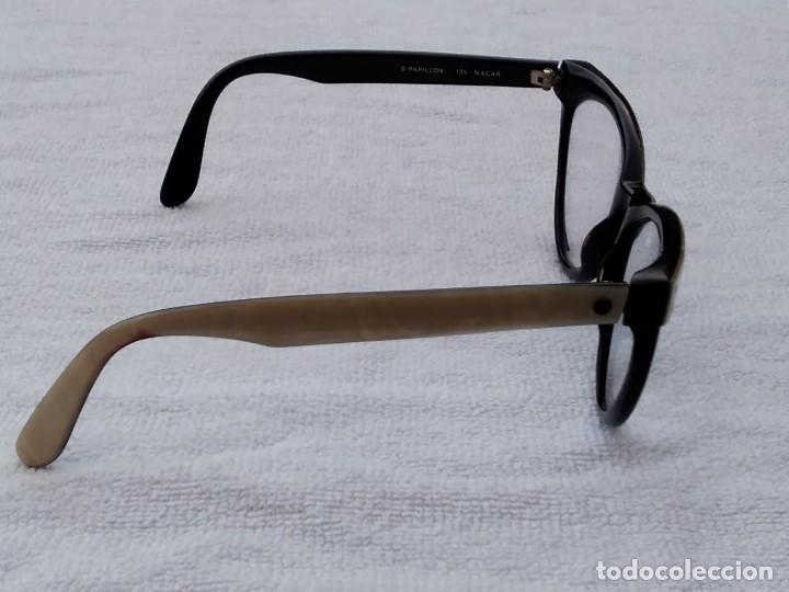 Vintage: Gafas( indo España) boutique papillon. Años 80.grieta base ojo izquierdo. Para arreglar. - Foto 7 - 140139266