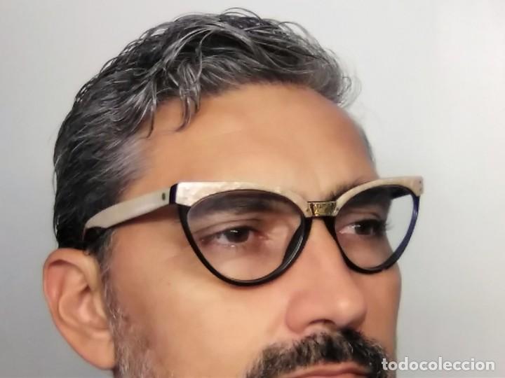 Vintage: Gafas( indo España) boutique papillon. Años 80.grieta base ojo izquierdo. Para arreglar. - Foto 10 - 140139266