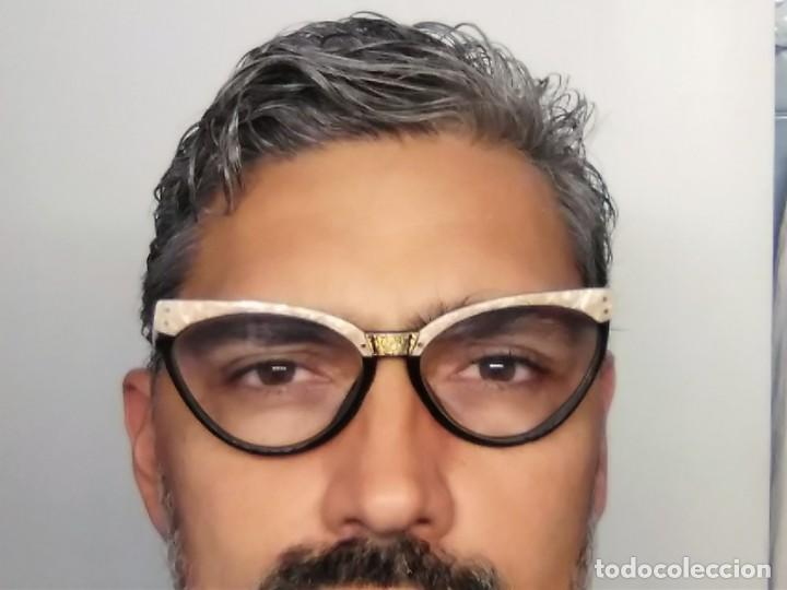 Vintage: Gafas( indo España) boutique papillon. Años 80.grieta base ojo izquierdo. Para arreglar. - Foto 11 - 140139266