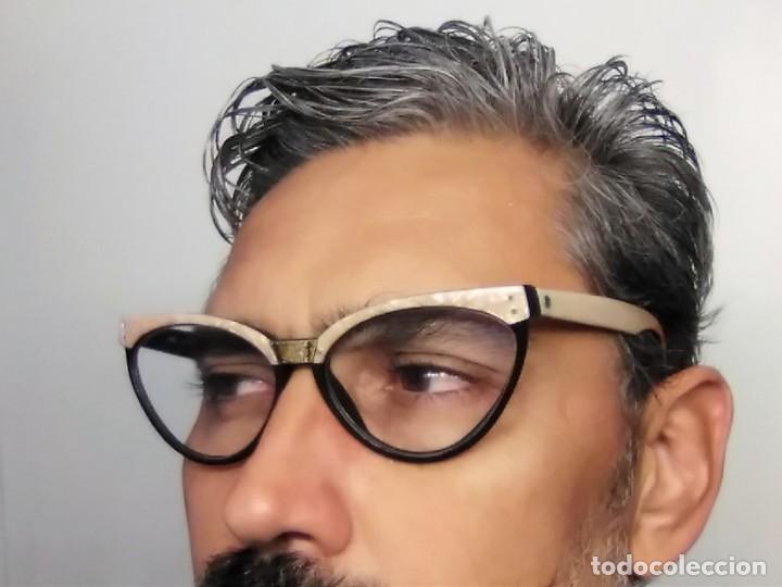 Vintage: Gafas( indo España) boutique papillon. Años 80.grieta base ojo izquierdo. Para arreglar. - Foto 12 - 140139266