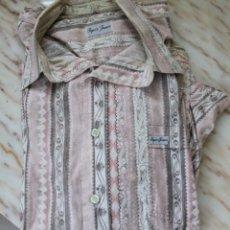 Vintage: CAMISA HOMBRE MARCA PEPE'S TALLA L, POR IMPAGO. Lote 148090822