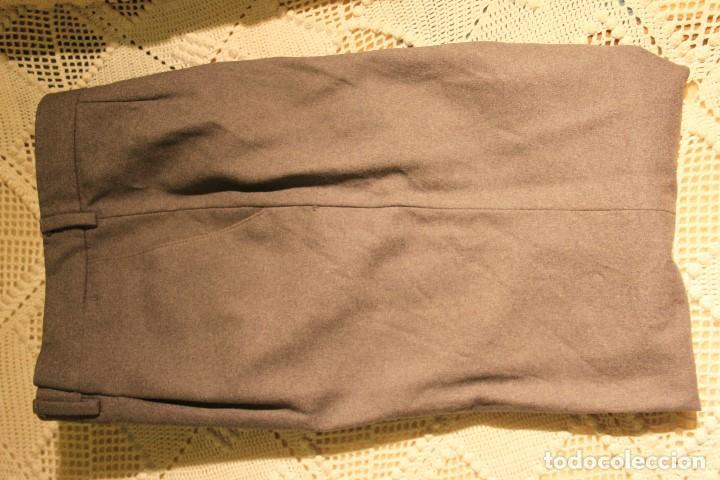 Vintage: Pantalón hombre 100% pura lana virgen de El Corte Inglés, talla 44-48 - Foto 2 - 140500806
