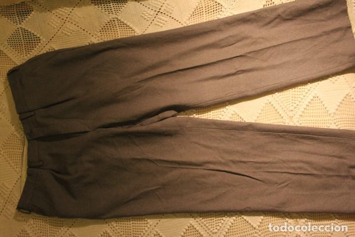 Vintage: Pantalón hombre 100% pura lana virgen de El Corte Inglés, talla 44-48 - Foto 4 - 140500806