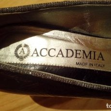 Vintage: ZAPATOS MUJER ACCADEMIA (MADE IN ITALY) TALLA 39. Lote 140615506