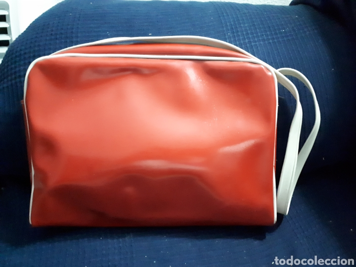 Vintage: Original Maleta bolsa cartera colegio años 70 - Foto 2 - 141261204