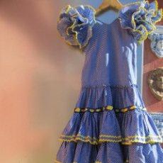 Vintage: TRAJE FLAMENCA JOVEN VINTAGE TALLA 12. Lote 142176682