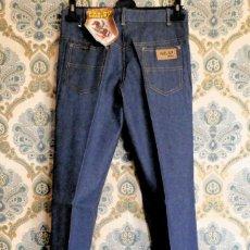 Vintage: LOTE DE 18 PANTALONES VAQUEROS RECTOS DE LOS AÑOS 70 - VARIAS TALLAS. Lote 142718670