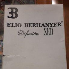 Vintage: IBERIA.BOTAS ELIO BEEHANYER. Lote 143939002
