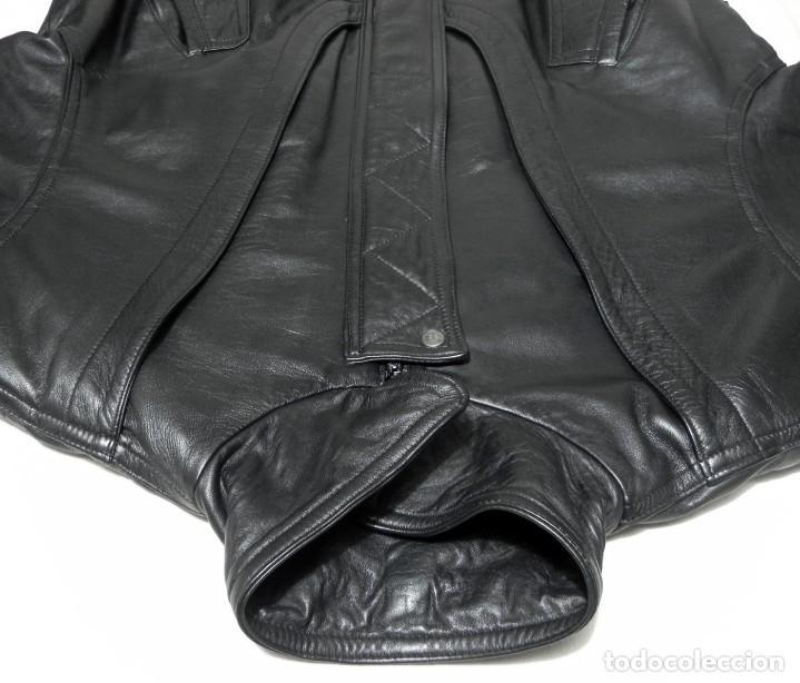 Vintage: Chaqueta Hombre ABRIGO PIEL 100% Talla G Color Negro EMILIA LOPEZ Cuero - Foto 3 - 144376138