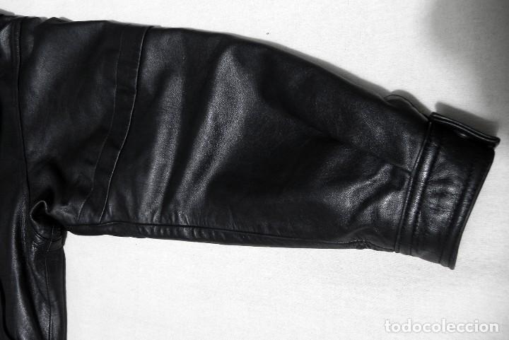 Vintage: Chaqueta Hombre ABRIGO PIEL 100% Talla G Color Negro EMILIA LOPEZ Cuero - Foto 7 - 144376138