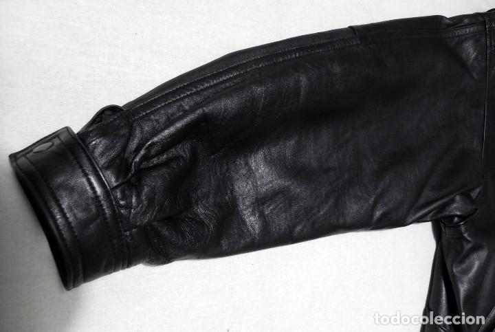 Vintage: Chaqueta Hombre ABRIGO PIEL 100% Talla G Color Negro EMILIA LOPEZ Cuero - Foto 8 - 144376138