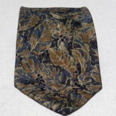 Vintage: CORBATA MASSIMO DUTTI 100% SEDA NATURAL MADE IN ITALY SILK TIE. Lote 144450622
