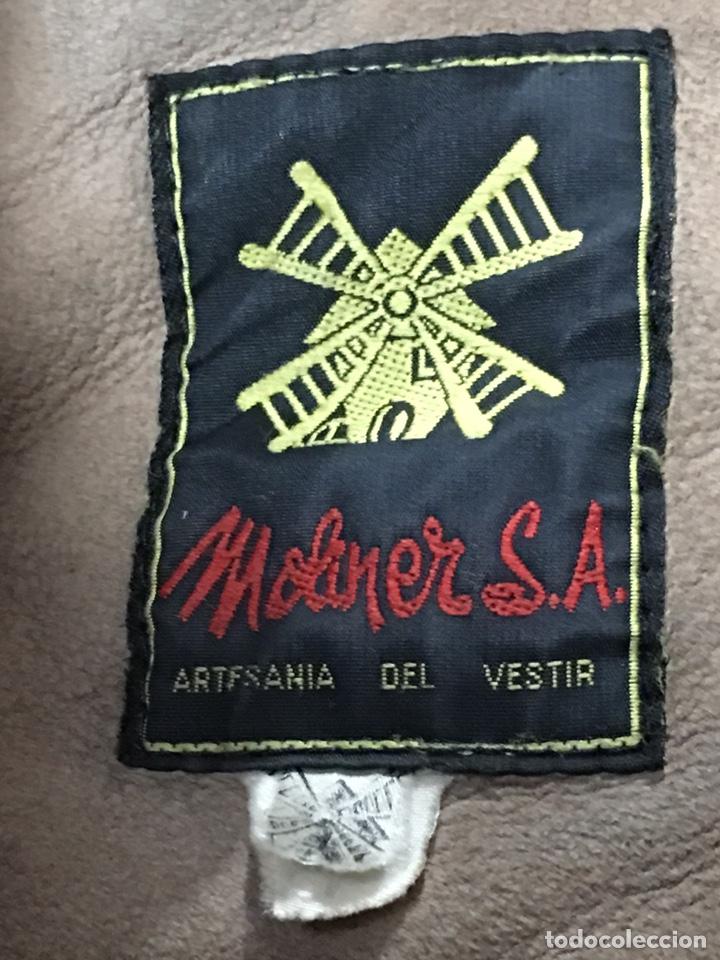 Vintage: ANTIGUA CHAQUETA - ABRIGO DE PIEL O PELLIZA - VINTAGE AÑOS 70 - TALLA M - Foto 5 - 222610102