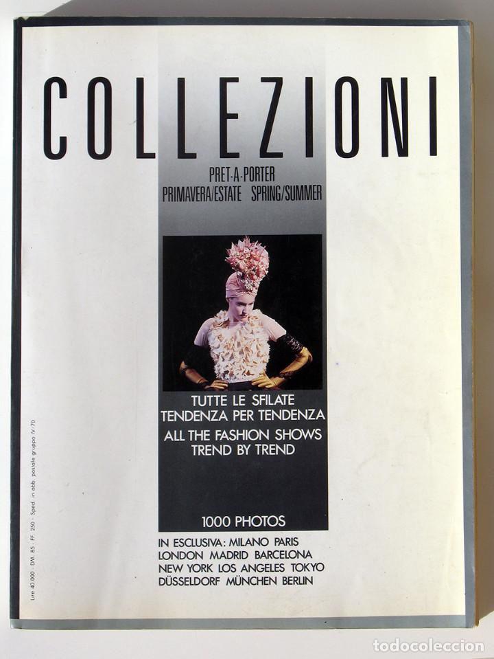 REVISTA ITALIANA COLLEZIONI DONNA. PRET A PORTER PRIMAVERA/ESTATE-SPRING/SUMMER 1998. VER FOTOS (Vintage - Moda - Mujer)