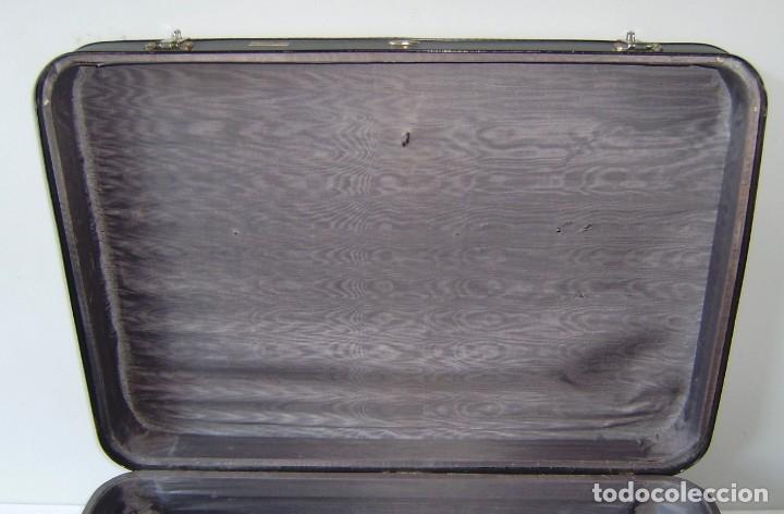 Vintage: Maleta de viaje Tauro con llave. - Foto 4 - 145260722