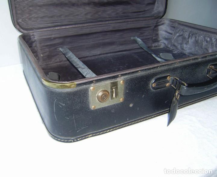 Vintage: Maleta de viaje Tauro con llave. - Foto 5 - 145260722