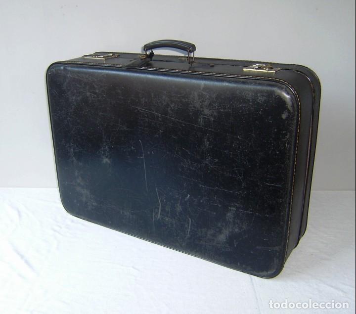 Vintage: Maleta de viaje Tauro con llave. - Foto 6 - 145260722