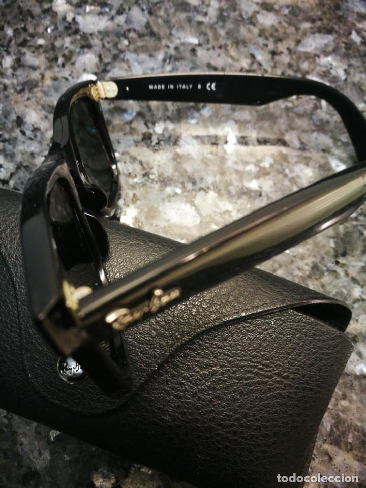 010d5ef5a2 Gafas ray ban wayfarer negras con funda. - Sold at Auction - 145754110