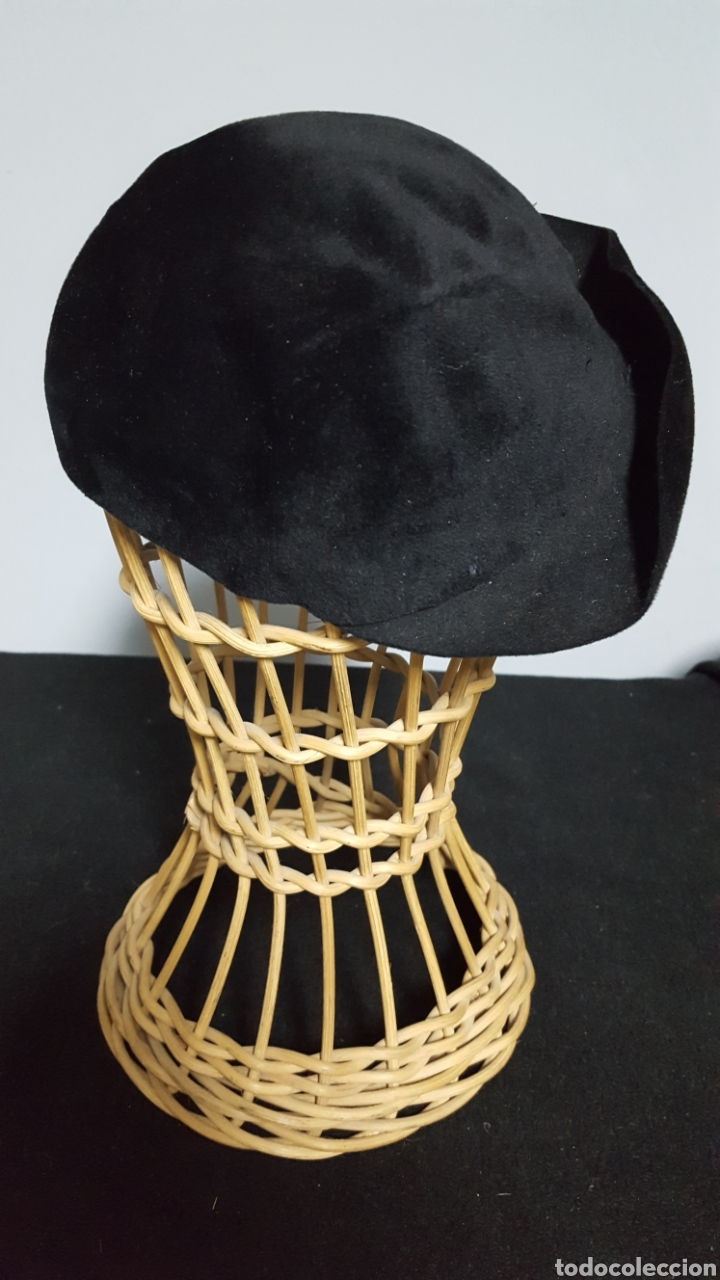 Vintage: Tocado sombrero vintage plumas años 50 - Foto 3 - 146579022