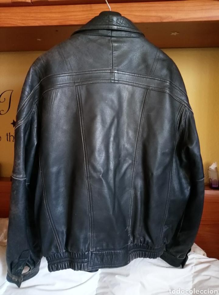 Vintage: Magnífica chaqueta piel aviador. Piel legítima - Foto 4 - 147306161