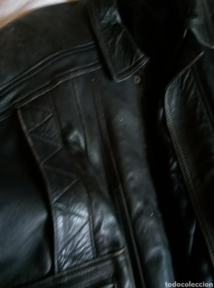 Vintage: Magnífica chaqueta piel aviador. Piel legítima - Foto 5 - 147306161