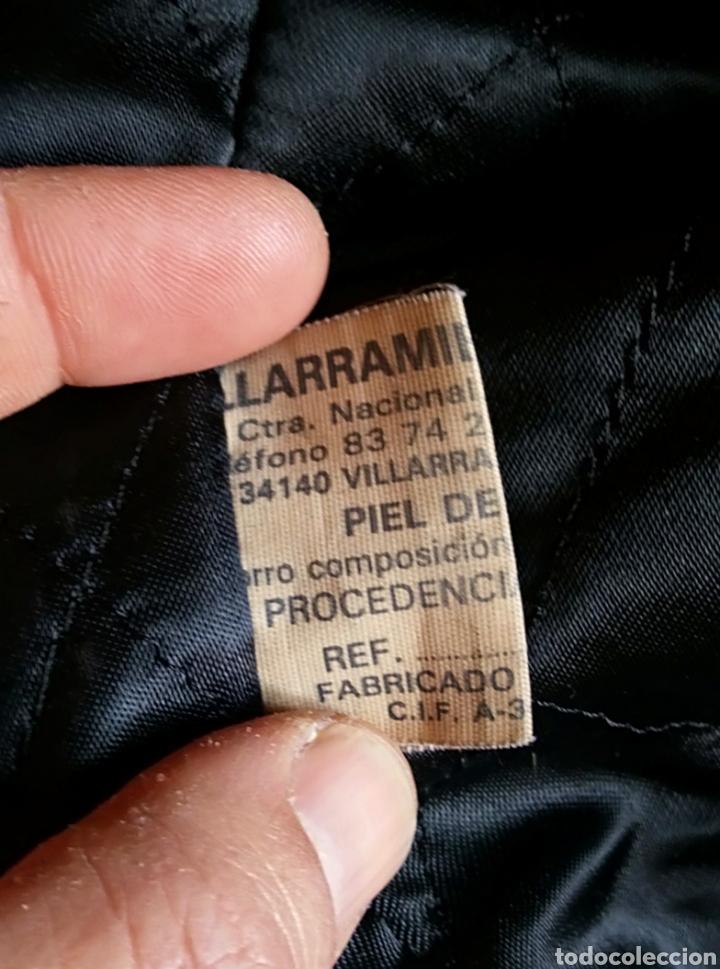 Vintage: Magnífica chaqueta piel aviador. Piel legítima - Foto 7 - 147306161