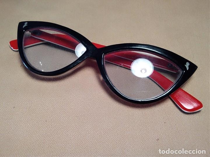 Precio pagable diseño innovador nueva lanzamiento Gafas vintage ( CRISTAL CON GRADUACION PARA VER DE CERCA) MONTURA EN BUEN  ESTADO.