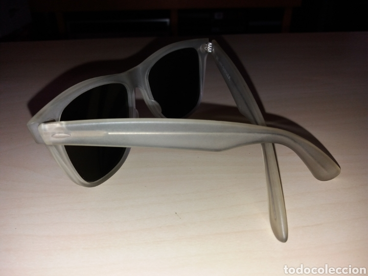 Vintage: Vintage RAY BAN Bausch & Lomb B&L - WAYFARER - Made in U.S.A. - FROSTED G15 GREY - Foto 9 - 149204150