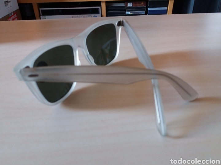 Vintage: Vintage RAY BAN Bausch & Lomb B&L - WAYFARER - Made in U.S.A. - FROSTED G15 GREY - Foto 10 - 149204150