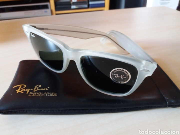 Vintage: Vintage RAY BAN Bausch & Lomb B&L - WAYFARER - Made in U.S.A. - FROSTED G15 GREY - Foto 11 - 149204150