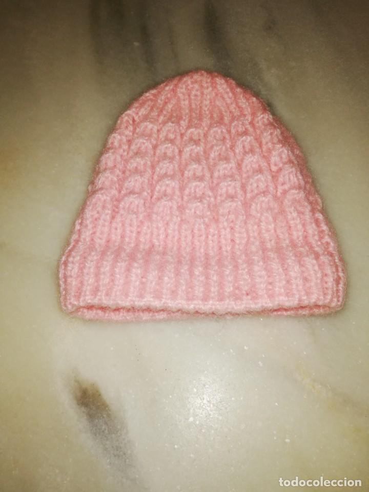 gorro de lana para bebé. - Comprar Complementos vintage en ... 452b9fbaeb9