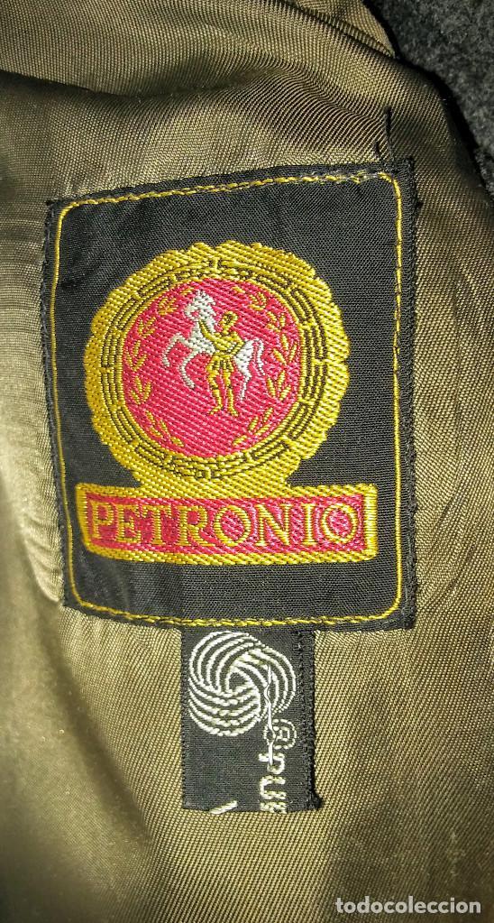 Vintage: ABRIGO 3/4 PURA LANA VIRGEN PETRONIO ( SASTRERIA HERRANZ ) - Foto 7 - 150309914