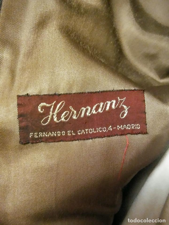 Vintage: ABRIGO 3/4 PURA LANA VIRGEN PETRONIO ( SASTRERIA HERRANZ ) - Foto 9 - 150309914