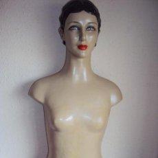Vintage: (ANT-190250) BUSTO MANIQUI FEMENINO AÑOS 1950S. Lote 150645302