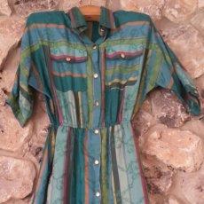 Vintage: VESTIDO CAMISERO AÑOS 70. Lote 150848386