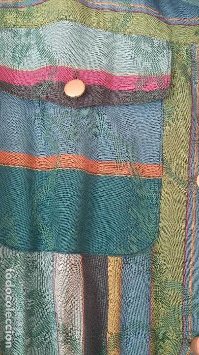 Vintage: Vestido camisero años 70 - Foto 4 - 150848386