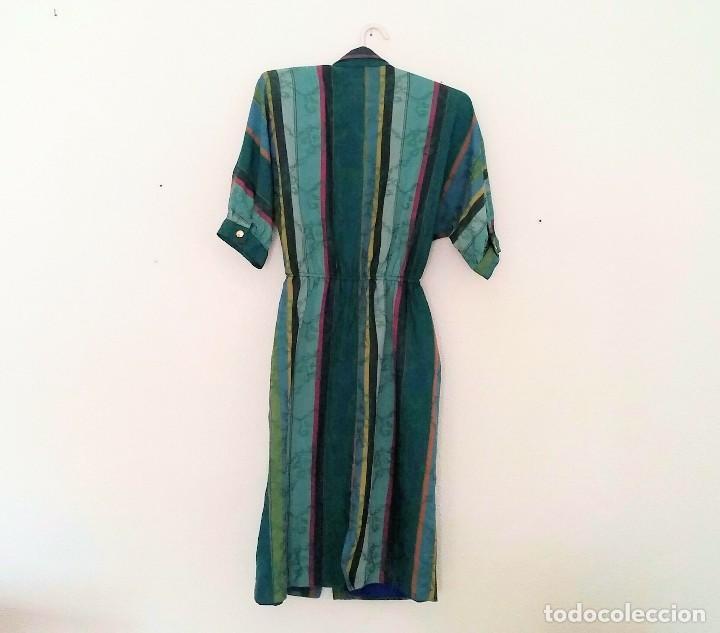Vintage: Vestido camisero años 70 - Foto 6 - 150848386