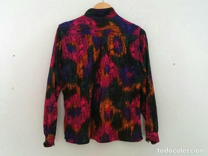Vintage: Blusa colores - Foto 2 - 150848746
