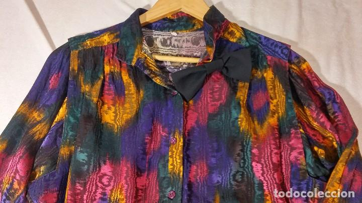 Vintage: Blusa colores - Foto 4 - 150848746