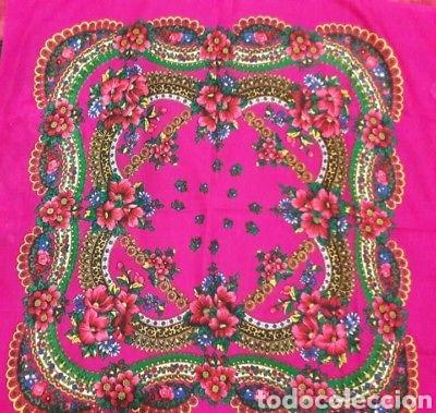 Vintage: Dos pañuelos vintage años 80 japoneses estampado de flores - Foto 3 - 150849822