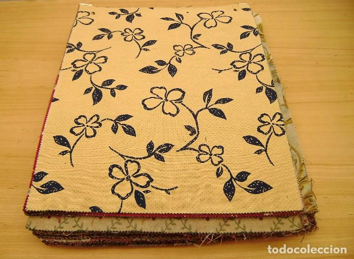Vintage: Super lote de mas de 300 muestrario de telas. - Foto 3 - 150850410