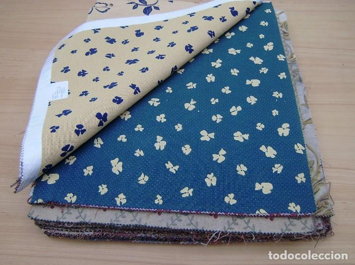 Vintage: Super lote de mas de 300 muestrario de telas. - Foto 4 - 150850410