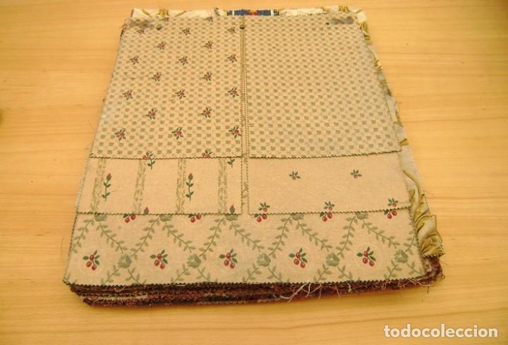 Vintage: Super lote de mas de 300 muestrario de telas. - Foto 6 - 150850410